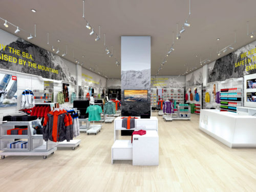 Helly Hansen; Mall of Africa; specialised store design